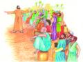 Peter Lifting the Lame Man